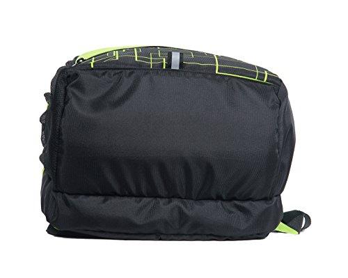 POLE STAR HERO 32 Liters Green & Black Casual Backpack/ Day pack / shcool bag