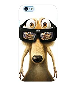ColourCraft Funny Squirrel Design Back Case Cover for APPLE IPHONE 6S