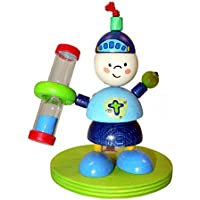 Hess Wooden Toddler Toy Knight Tooth Brush Holder with Timer