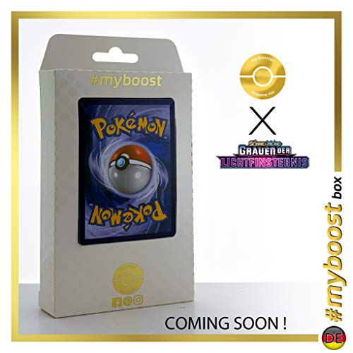 Geheimnisvoller Schatz (Tesoro Misterioso) 145/131 Entrenadore Secreta - #myboost X Sonne & Mond 6 Grauen Der Lichtfinsternis - Box de 10 Cartas Pokémon Aleman