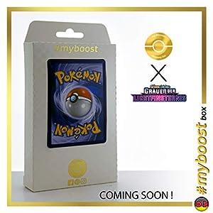 Palkia-GX 132/131 Arcoíris Secreta - #myboost X Sonne & Mond 6 Grauen Der Lichtfinsternis - Box de 10 Cartas Pokémon Aleman