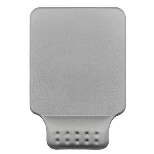 JiaQi Office Mousepad Mit Handgelenkstütze,gemütlich Memory-Schaum Ergonomische Mauspad,Nicht-schlupf Gummibasis Für Easy Typing Schmerzlinderung-grau 17x25cm(7x10inch)