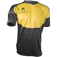 Ho soccer Legacy Camiseta de Portero Manga Corta, Hombre, Negro/Amarillo/Naranja