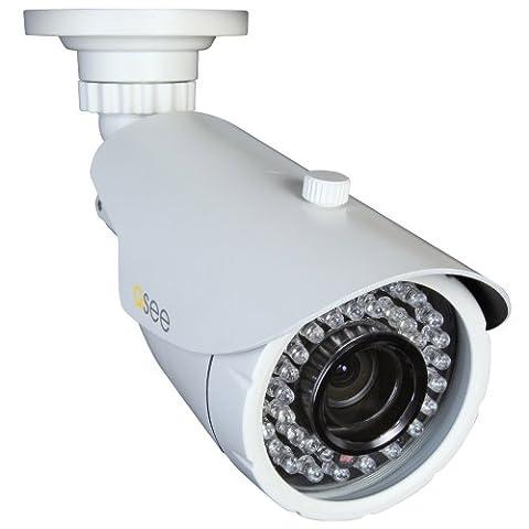 Q-See QD6502B 650TVL Analog Bullet Camera with 120 ft Night