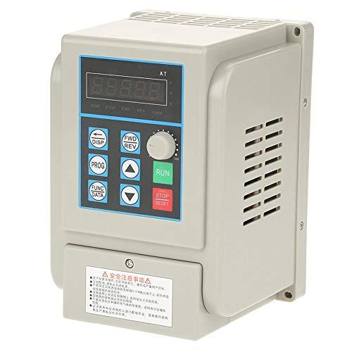 Frequenzumrichter mit 2,2 kW, Bewinner 220 VAC Einphasen-Frequenzumrichter mit VFD und großem Kühlkörper Frequenzumrichter mit 2,2 kW für Drehstrommotoren -