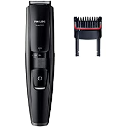 Philips BT5200/16 - Barbero con cuchillas metálicas, color negro
