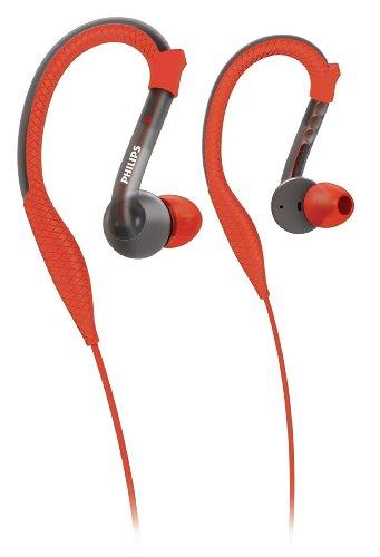 Philips SHQ3200 - Auriculares de clip, rojo