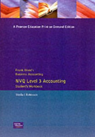 Frank Wood's Business Accounting NVQ Level 3 Accounting for sale  Delivered anywhere in UK