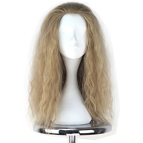 Miss U Hair The Avengers Thor Wig Men's Long Curly Ash Blonde Movie Anime Cosplay Wig C208 by Miss U Hair