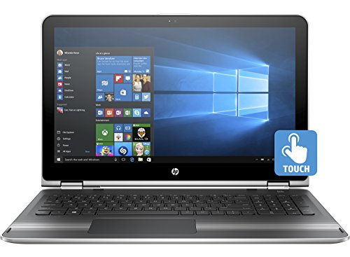 "HP Pavilion x360 15-bk000 15-bk075nr 15.6"" 16:9 2 in 1 Notebook - 1366 x 768 Touchscreen - Intel Core i5 (6th Gen) i5-62"