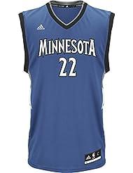 adidas Herren T-Shirt Timberwolves Basketballshirt