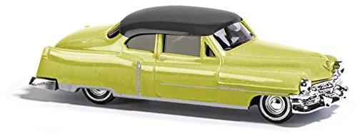 Busch 43430-Cadillac '52Coupé, vehículos, Amarillo