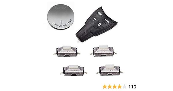Reparatur Kit Für Saab Fernbedienung 4 Tasten