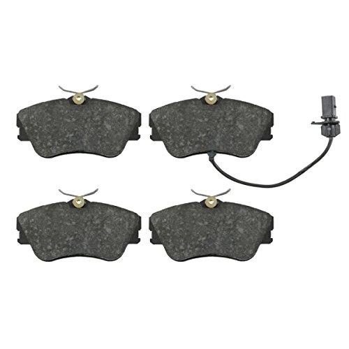 Preisvergleich Produktbild febi bilstein 16449 Bremsbelagsatz (vorne,  4 Bremsbeläge),  mit Verschleißwarnkontakt