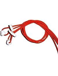 Lacets Elastique Verrouillage - Rouge