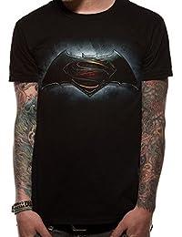 Batman v Superman Logo T-Shirt black XL
