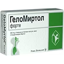 GeloMyrtol 20 caps Acute Bronchitis and Chronic-Inflammation of paranasal sinuses 300mg by Pohl Boskamp