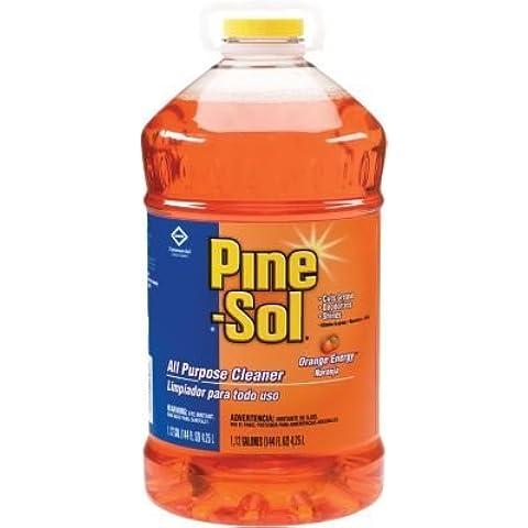 Clorox Pine-Sol Orange Energy All Purpose Cleaner, 144 oz by (Pine Sol All Purpose Cleaner)