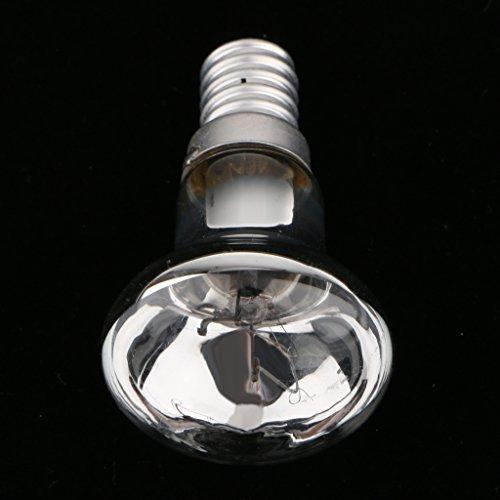 Sharplace 2pcs 30W SES R39 E14 Ampoules à Réflecteur en Verre Argent
