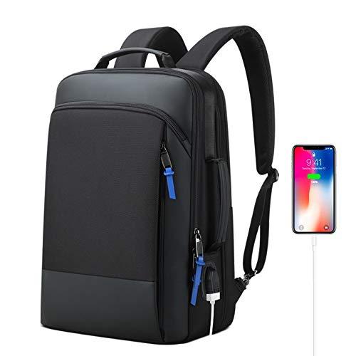 DUANYU Rucksäcke Laptop,Erweiterbare Wasserabweisend Travel Rucksack Männer Computer Back Pack Rucksack Männlich -