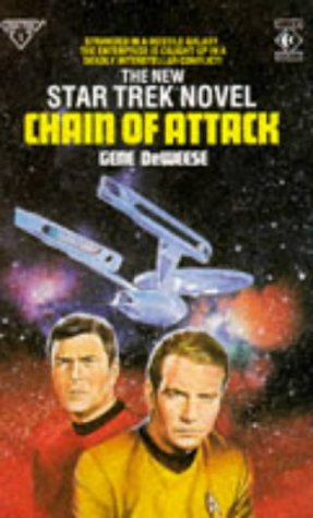 Cover of Chain of Attack (Star Trek)
