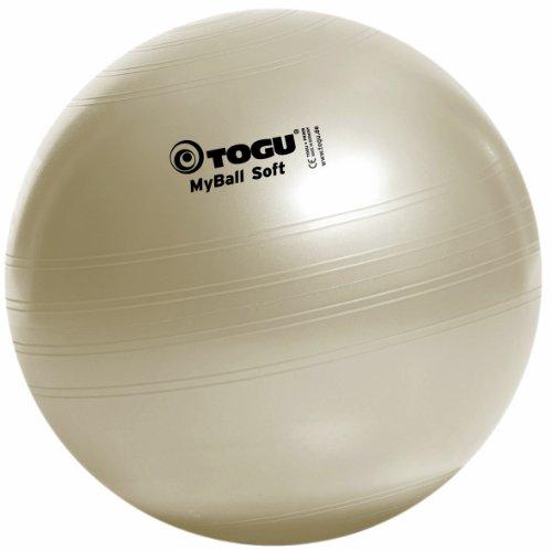 #Togu Gymnastikball My-Ball Soft, perlweiß, 55 cm, 418551#