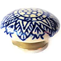 Set di 6 pomelli in ceramica di French mobili raccordi Fff ...