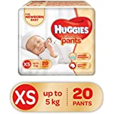 Huggies Ultra Soft Pants Diapers, XS (Pack of 20)