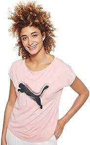 Puma Studio Mesh Cat Tee Shirt For Women