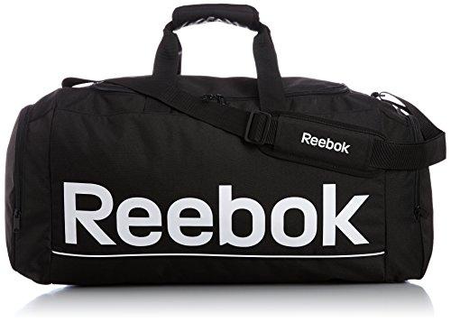 Reebook Spor Roy M Grip - Bolso unisex, color negro / blanco, talla única