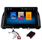 Roverone 10,2 Zoll Android 6.0 Octa Core Autoradio GPS-Player für MAZDA CX5 CX-5 2013 2014 2015 mit Navigation Stereo-Radio Bluetooth Spiegel Link Full Touch Bildschirm