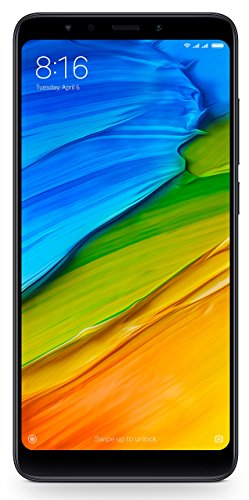 Redmi 5 (Black, 4GB RAM, 64GB Storage)