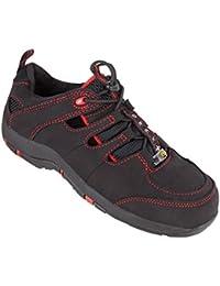 BAAK chaussures pour femme sue 3211 s1 eSD sandales haute noir bGR191: chaussures adaptées aux semelles orthopédiques