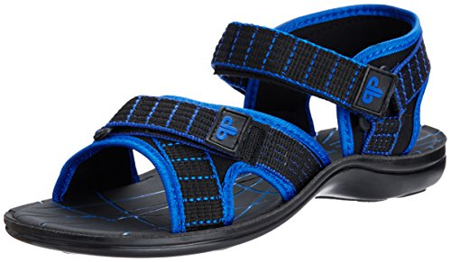 Provogue Men's Blue Mesh Sandals and Floaters - 10 UK  available at amazon for Rs.349