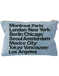 American Apparel Denim Cities Carry-All Pouch