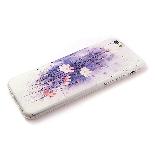 Etche Boîtier en caoutchouc pour iPhone 5C,Cas de TPU pour iPhone 5C,Coque pour iPhone 5C,Colorful série Imprimé Housse de la peau de pare-chocs TPU Soft en caoutchouc de silicone pour iPhone 5C Gratu TPU #3