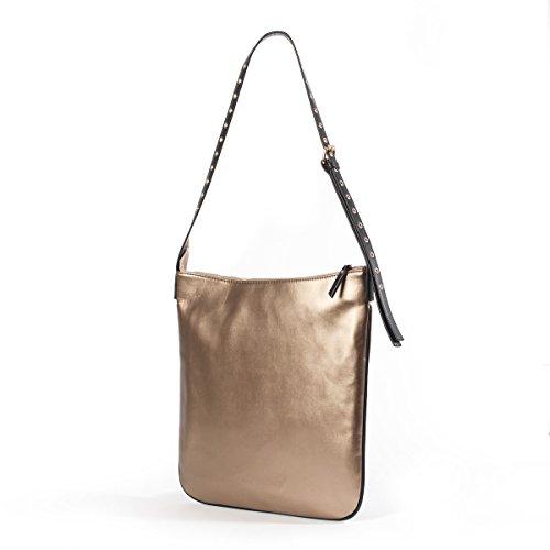 La Redoute Collections Frau Handtasche Bronzefarben