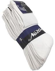 S27X 5 Paar Sportsocken WEISS DICKER Tennissocken Socken V2