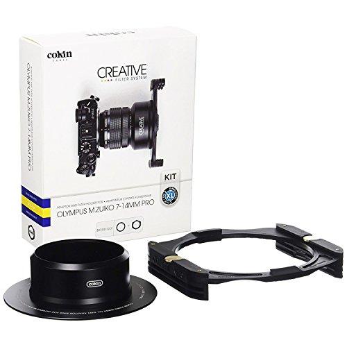Cokin BX100-OLY Bague avec Porte-Filtre pour Optique Olympus 7-14 mm F2,8 Pro/Système COKIN Taille XL 130 mm Noir