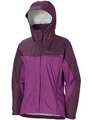 Marmot Damen Regenjacke Wm's PreCip Jacket, Grape Berry / Dark Purple, XS, R1027-6788-2
