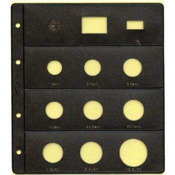 Kissenbezüge Taupe für 8Münzen Euro + 12& # x20AC; Silber + Flagge + Jahr, Paket x 6