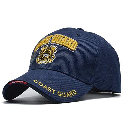 QWER BaseballmützeBeiläufige Usa-Küstenwache-Armee-Baseballmütze Knochen-Us-Marine-Hut-Kappen-Mann-Frauen-Kappe (Us-marine-kappe)