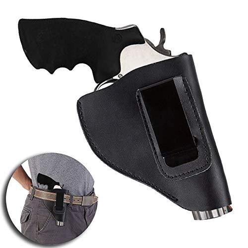 Gexgune Jagdzubehör Cool Tactical Gun Zubehör Echtleder Jagd Kampfholster Revolver (Holster Revolver)