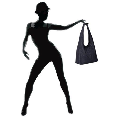 CASPAR Taschen & Accessoires, Borsa a spalla donna Dark blue
