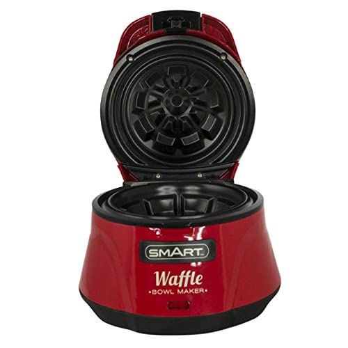 41FPecC9l4L. SS500  - Smart Waffle Bowl-Red, Stainless Steel