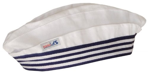 Modas Schiffchen - Matrosenmütze für Kinder und Erwachsene, Farbe:weiß,...