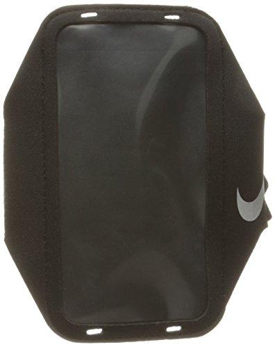 Nike Erwachsene Lean Armband, Black/Black/Silver, One Size (Nike Armband)