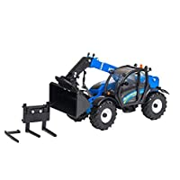Britains 1:32 New Holland LM7.42 Telehandler with Attachments  Collectable Farm Vehicle Toy  Suitable From 3 years