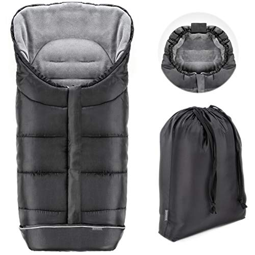 *Zamboo Winter-Fußsack für Kinderwagen, weicher Deluxe-Thermo-Fleece*