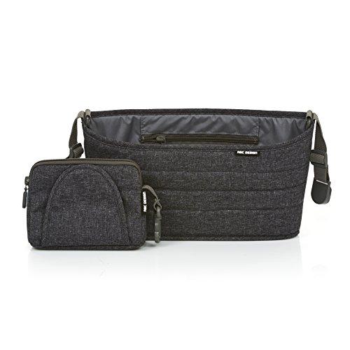 ABC Design 91301702Organizer Street-Handtasche Haltegriff Organizer, grau